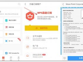 [办公软件]WPS Office 办公软件手机版下载, WPS Office 12.4.3 for Android 解锁付费版