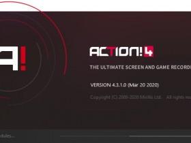 [屏幕录像]Mirillis Action!高清屏幕录像软件下载,Mirillis Action! v4.3.1 中文免激活便携版