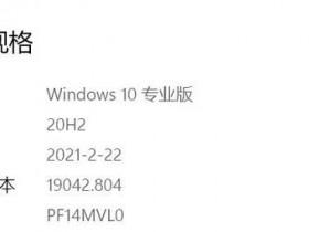 [系统教程]如何解决Win10 20H2占用C盘空间过大的问题?