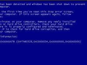 [系统教程]重装Win7系统出现蓝屏0X0000007B的解决方法