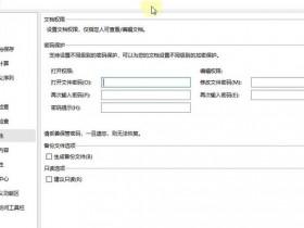办公软件使用之怎么设置WPS表格安全密码?WPS设置密码的方式