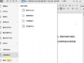 办公软件使用之WPS未保存文件怎么恢复?WPS未保存文件恢复方法