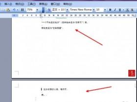 办公软件使用之Word文档怎么删除分页符?Word文档取消分页符图文教程