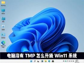[系统教程]电脑没有TMP可以升级win11系统吗?Win11怎么绕过TMP进行安装?