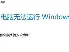 [系统教程]Win11安全启动如何打开?Win11安全启动打开的方法